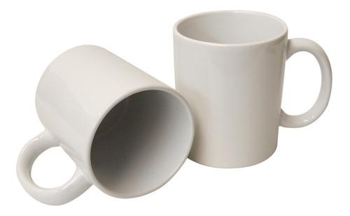 taza blanca sublimación sublimar 11 oz. caja con 24 piezas.