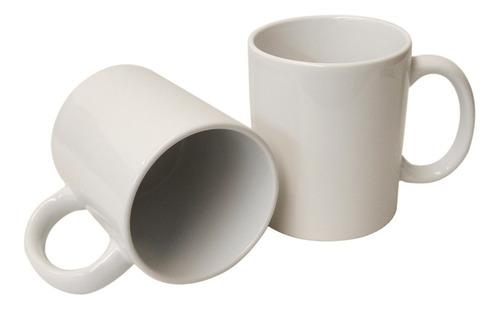 taza blanca sublimación sublimar 11 oz. grado aa 36 piezas.