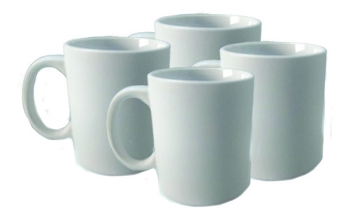 taza blanca terminado mate tlp 11oz para sublimación 36 piezas