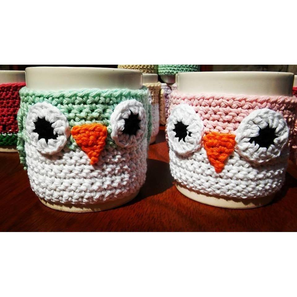 Taza Buho Crochet - $ 230,00 en Mercado Libre