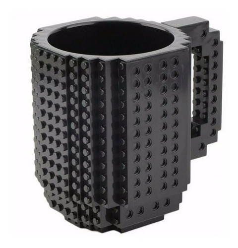 taza build-on con diseño de bloks de construccion