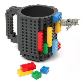 Taza Build-on Con Diseño De Bloks De Construccion H1188