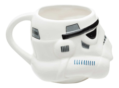 taza cafe star wars trooper 3d tarro ceramica 300ml