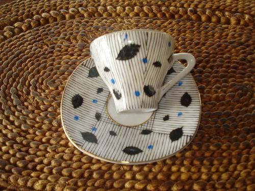 taza café y platillo porcelana bavaria