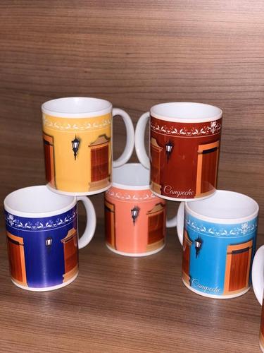 taza campeche sublimada variedad de diseños campechanos
