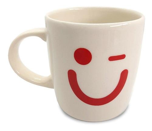 taza cerámica taragüi carita feliz