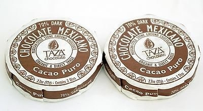 taza chocolate - mexicano disc 70% dark mexican-style stone
