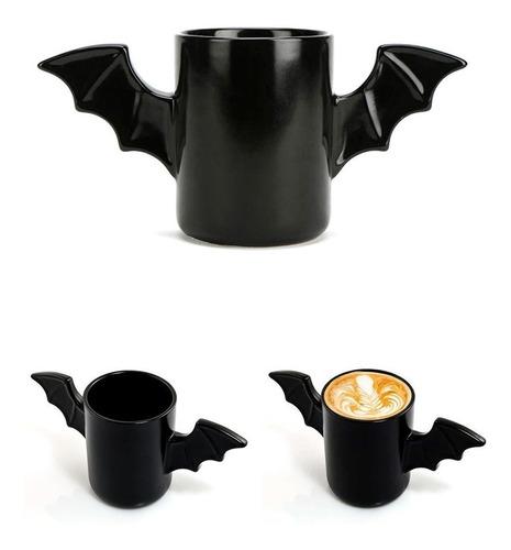 taza con alas murciélago