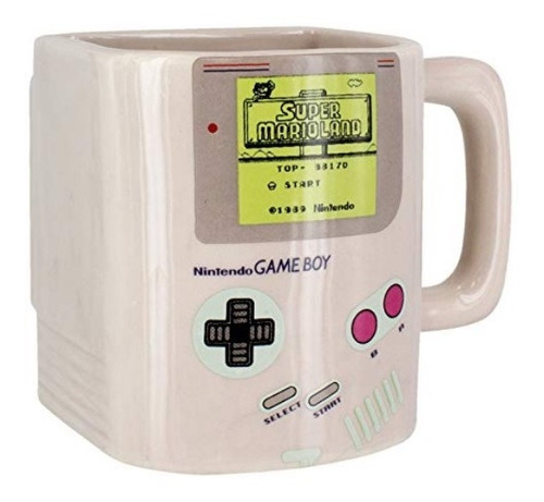 taza con galletero gameboy