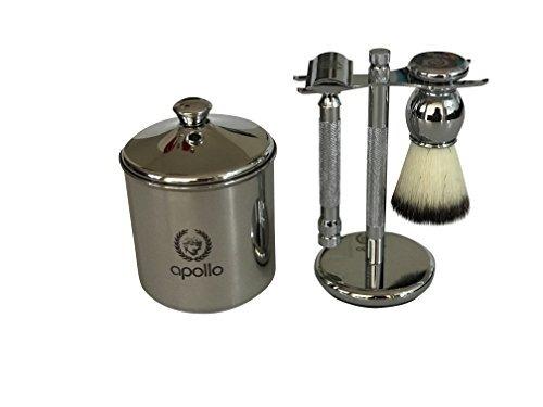 taza de afeitar apollo shaving abertura de 3,5  .