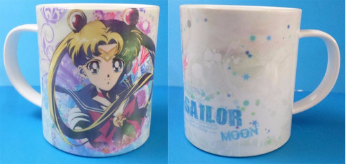 taza de anime de sailor moon serena tsukino usagi