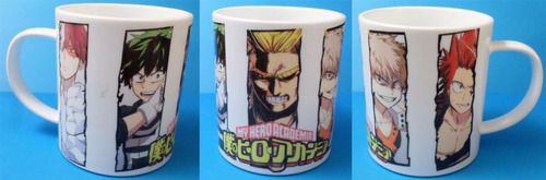 taza de anime my hero academia fandomo