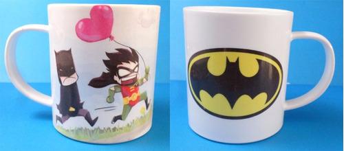 taza de batman y robin dc fandomo