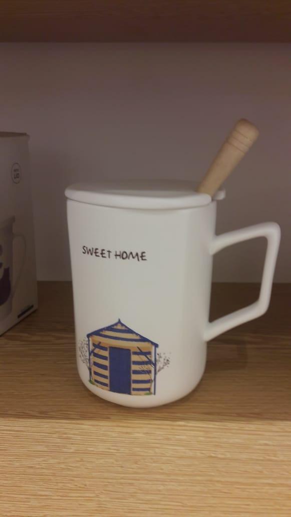 Taza de cafe ceramica miniso con cuchara diferentes dise os en mercado libre - Tazas de cafe de diseno ...