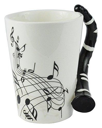 taza de café musical del clarinet de las no por oddballbi...