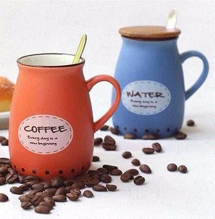 De Y Cafe Tapa Geek Taza Mug Con Cerámica Madera Cuchara ErdCQWBxoe