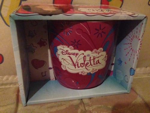 taza de cerámica de violetta nueva!!