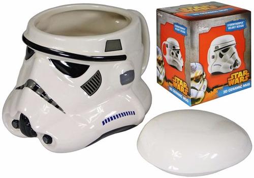 taza de ceramica termica starwars darth vader y stormtropper