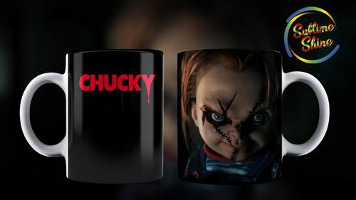taza de chuky - el muñeco maldito - peliculas terror