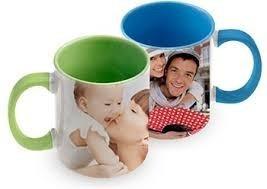taza de colores personalizada