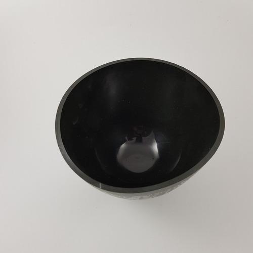 taza de goma y espatula para mezclar novacekdental