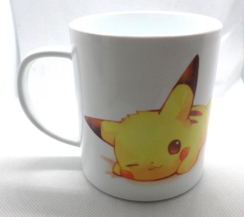 taza de plástico de anime de pokemon pikachu irrompible!