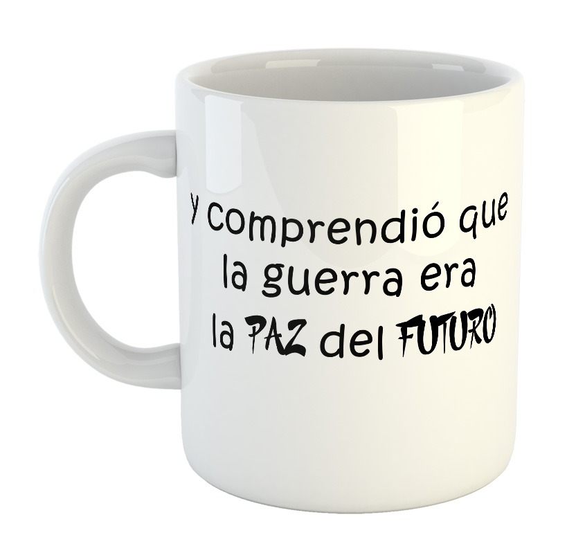 Taza De Plastico F55 Silvio Rodriguez Dominguez Frases