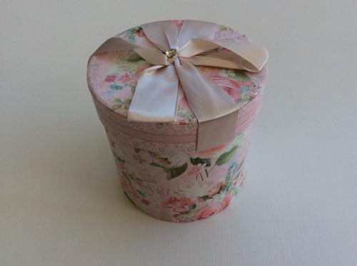 taza de porcelana jarrito mug flores con caja de regalo