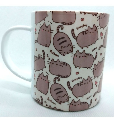 taza de pusheen gato facebook super cute!