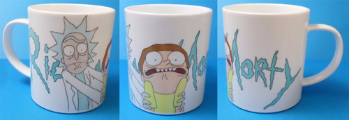 taza de rick and morty fandomo