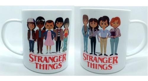 taza de series de tv stranger things eleven