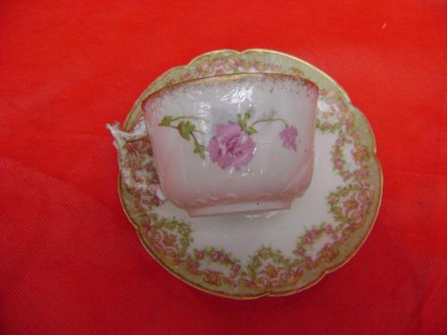 taza de te de porcelana limoges france
