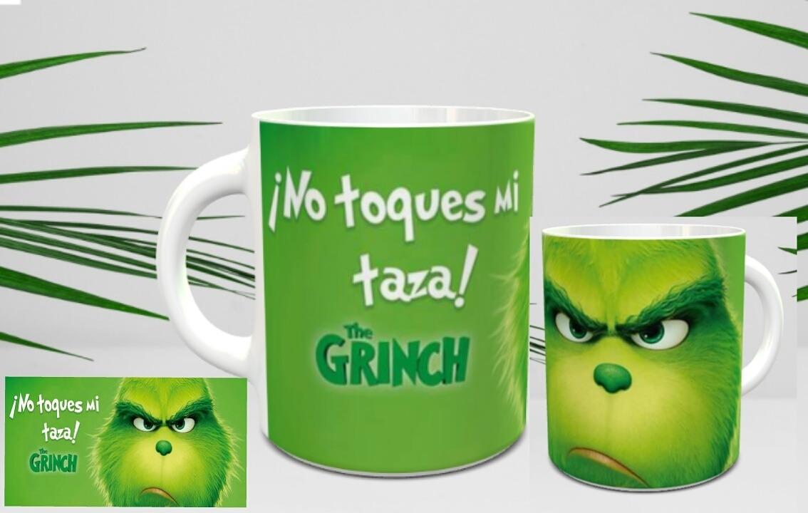 Imagenes De Grinch De Buenos Dias.Taza El Grinch No Toques Mi Taza