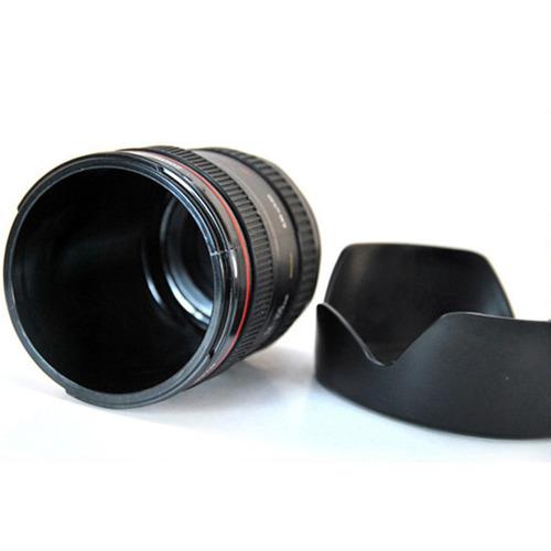 taza forma de lente de camara 24-105 con parasol h1285