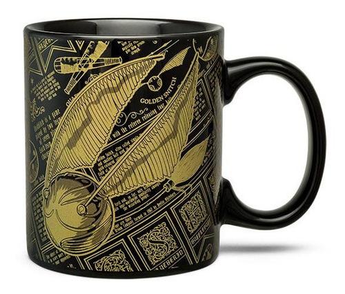 taza golden snitch harry potter