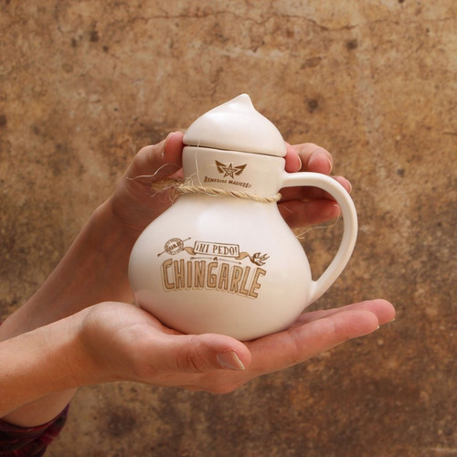 taza guaje blanca remedios mágicos  - ¡ni pedo!, a chingarle
