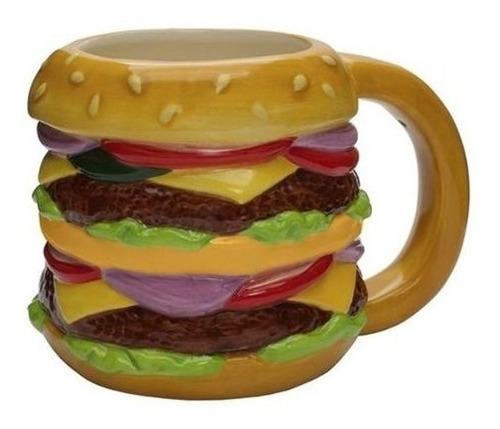 taza hamburguesa