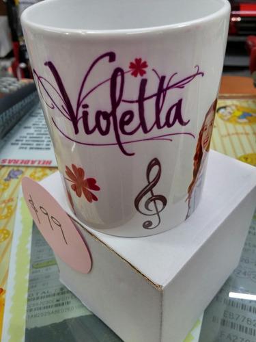 taza impresa de violetta personalizada