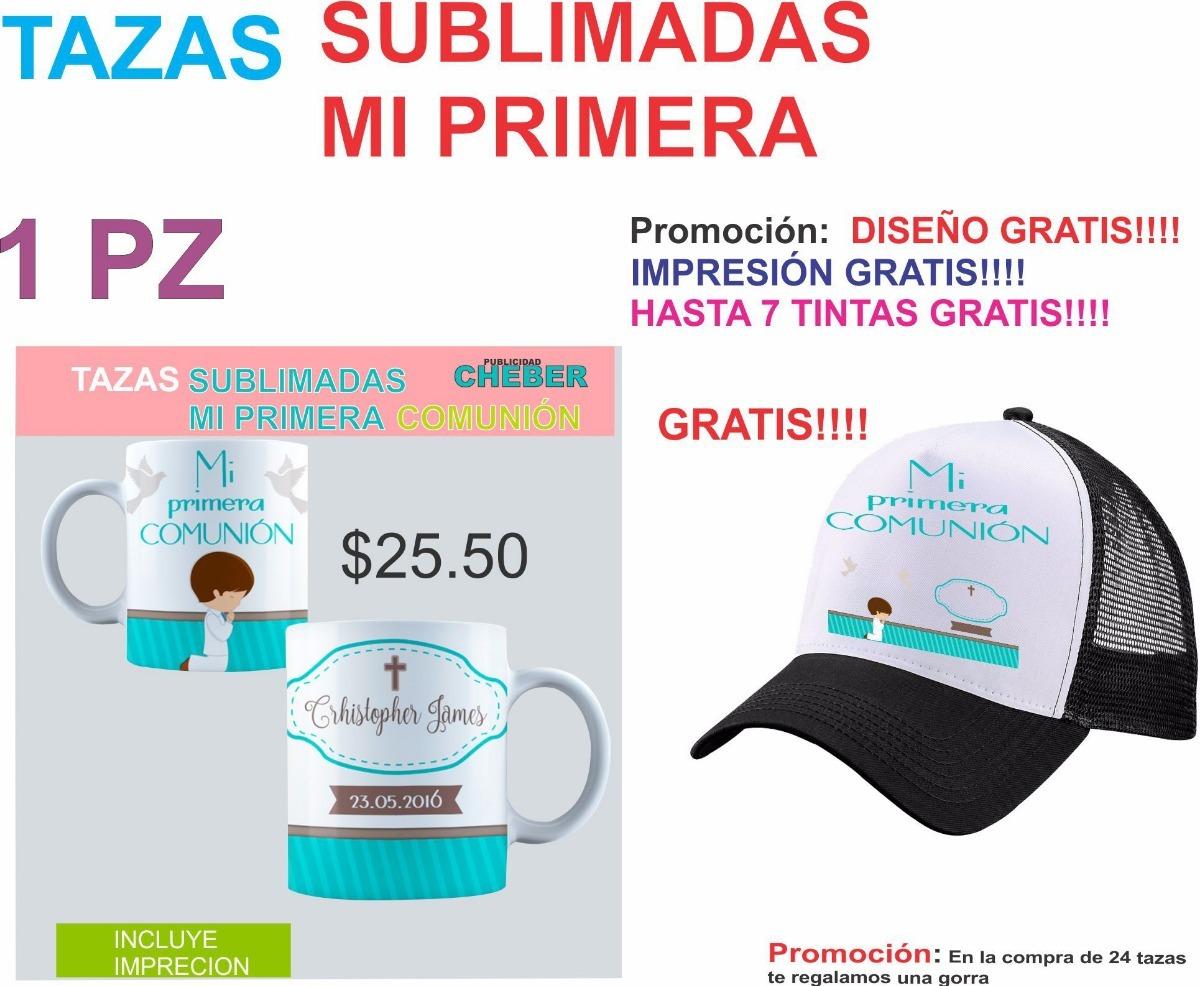 Taza impresa personalizada sublimada bautizo presentación cargando zoom jpg  1200x986 Impresa sublimadas frase gorras con logotip 3c715baf31b