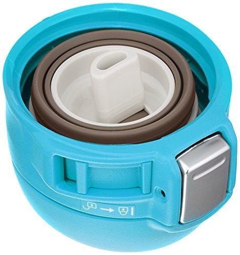 taza inoxidable zojirushi sm-sc36av, azul turquesa