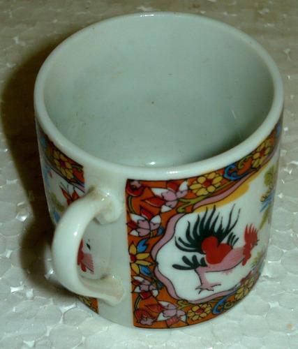 taza jarro jarrito de café, en porcelana, divinos colores.