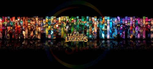taza league of legends gamer!!!