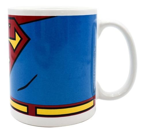 taza liga de justicia superman
