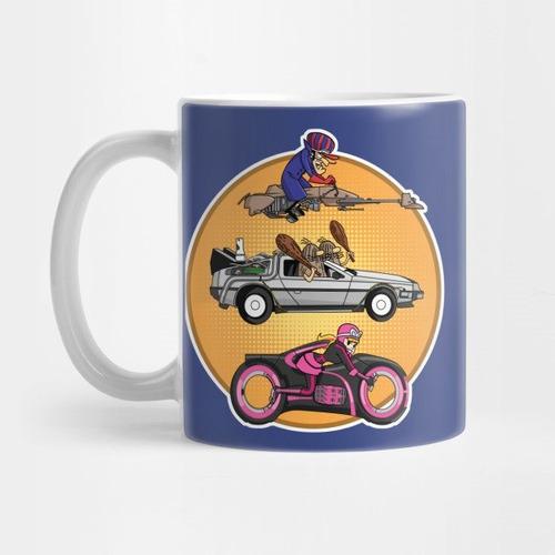 taza los autos locos coleccion 1 firefly