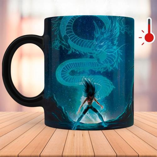 taza mágica caballeros del zodiaco dragón shiryu
