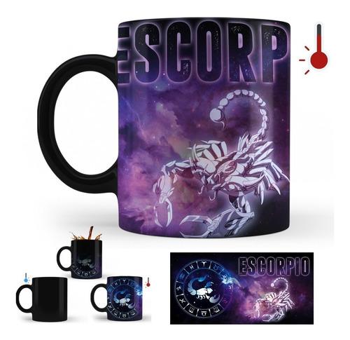 taza mágica caballeros del zodiaco escorpio