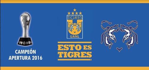 taza mágica conmemorativa tigres azul campeón! 2016