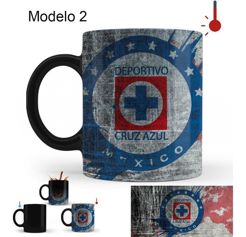taza mágica cruz azul varios modelos