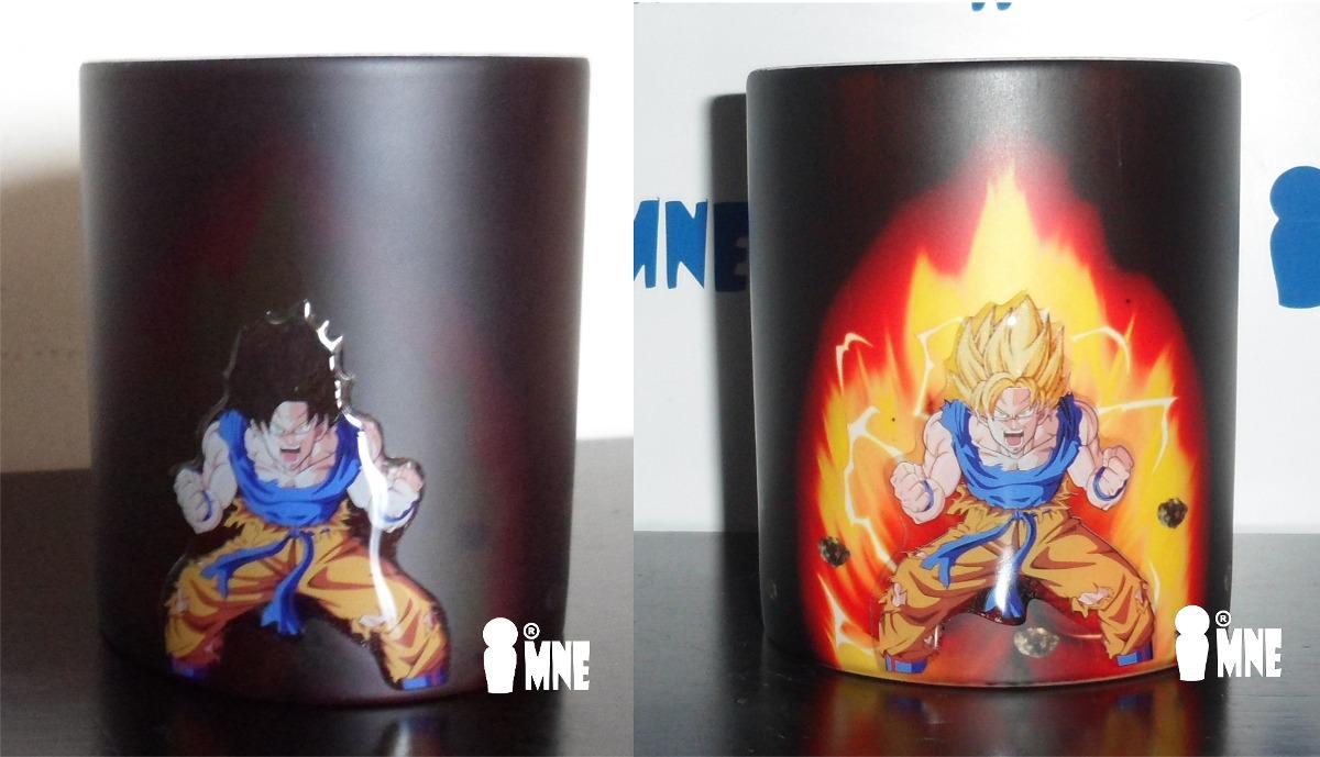 Taza Magica Goku 3d De Dragon Ball - $ 190.00 en Mercado Libre