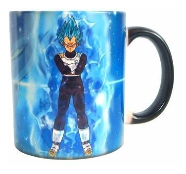 taza magica goku vegeta blue - entrega inmediata